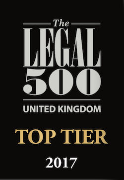 legal top tier firm 2017